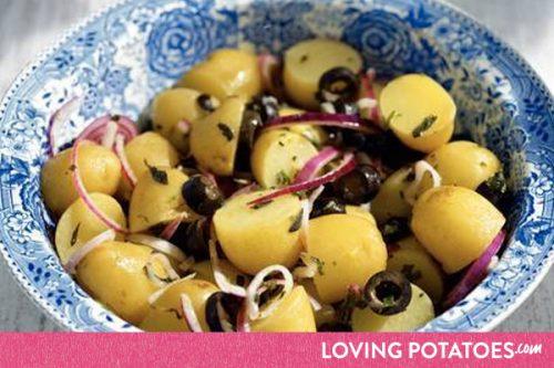 MijnAardappel.nl - Recept Provencaalse aardappelsalade