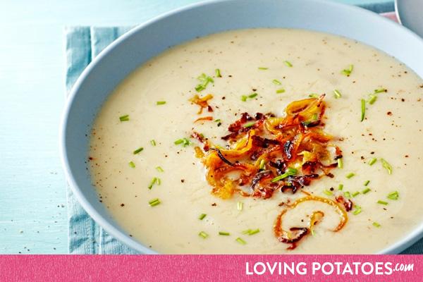 MijnAardappel.nl - Recept Aardappelsoep met topinamboer