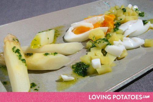 MijnAardappel.nl - Recept Aardappelen met asperges a la flamande