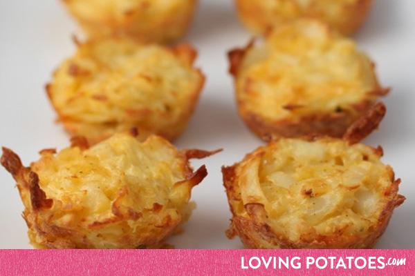 MijnAardappel.nl - Recept Hartige aardappelmuffins