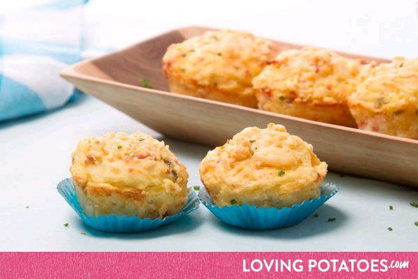 MijnAardappel.nl - Mediterane aardappelcakejes