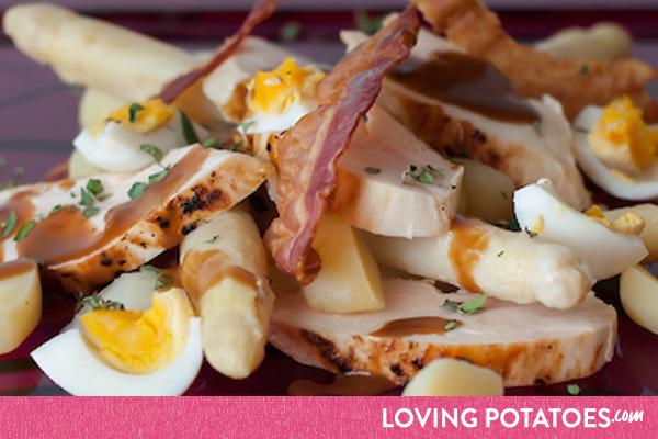MijnAardappel.nl - Recept Asperges met aardappelen en kip