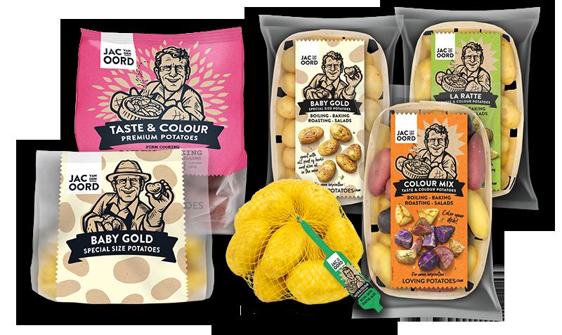 Jac van den Oord - Vast kokende aardappelen voor het maken van aardappelsalade
