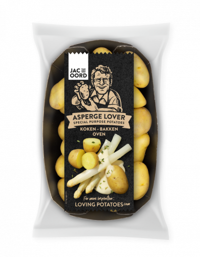 Jac van den Oord - Asperge lovers, een speciale selectie fijne aardapelen voor bij aspergegerechten