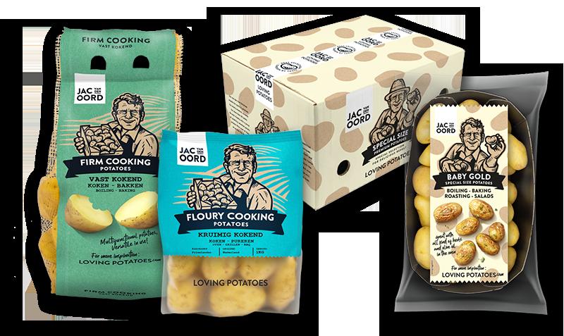 Jac van den Oord - Geschikte aardappelen voor de basisbereidingen 'koken in de magnetron' en 'stomen'