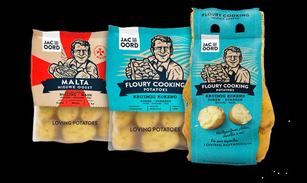 Jac van den Oord - Kruimige aardappelen