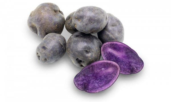 Jac van den Oord - Paarse truffelaardappelen geven een bijzondere kleur aan het gerecht