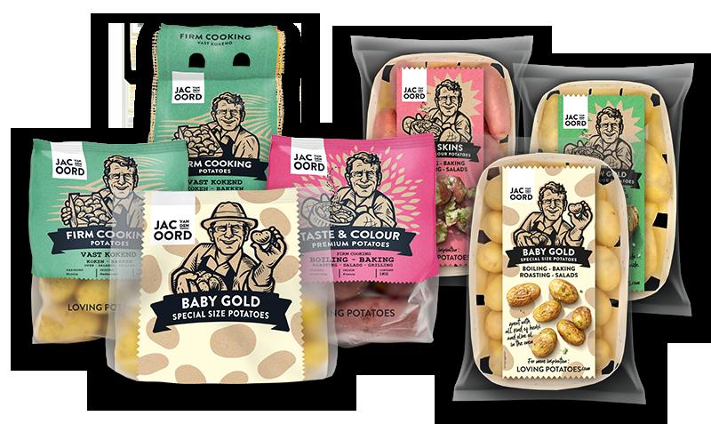 Jac van den Oord - Vast kokende aardappelen om te wokken of om ovenaardappelen te maken