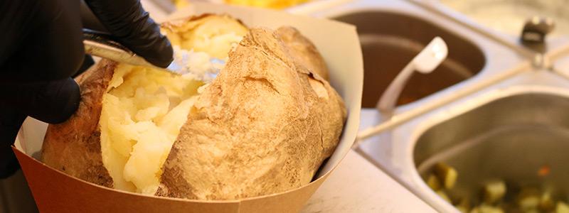 Aardappelen poffen - zo doe je het! Lees de basisbereiding op LovingPotatoes.com